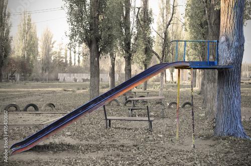 Fotografia, Obraz  A difficult childhood in Russia