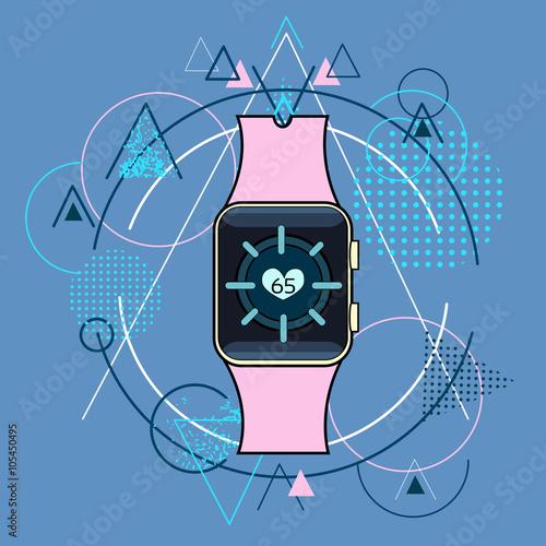 Smart Watch Fitness Tracker Application Technology