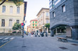 buildings in the city centre of Chiavari, Italy