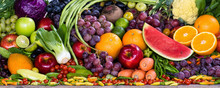 Various Fruits And Vegetables ...