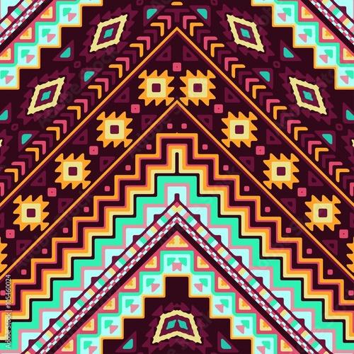 bezszwowy-reka-rysujacy-szewronu-wzor-z-aztec-etnicznym-i-plemiennym-ornamentem-wektor-ciemne-i-jasne-kolory-boho-ilustracja-moda