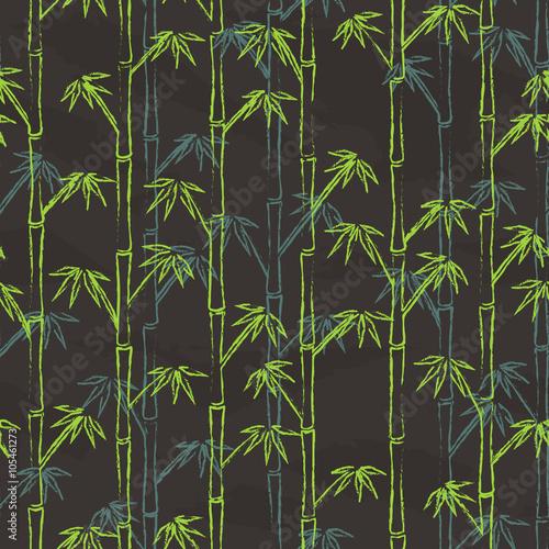 kolorowy-bambus-jest-narysowany-na-szarej-tablicy-bezszwowy-wzor