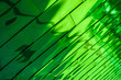 Leinwanddruck Bild - Green Reflective Background