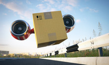 Fast Cargo Delivery By Creativ...