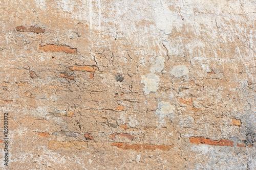 Poster Vieux mur texturé sale brick texture background