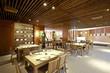Chinese style restaurant interior