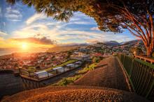 Sunset Over Funchal (Madeira)