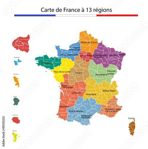 Fotografía  La France à 13 régions