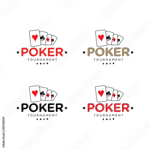 Poker Vector Logo Set - 105516039