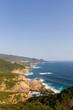 高知県土佐清水市 絶景展望台から見た風景『足摺半島』