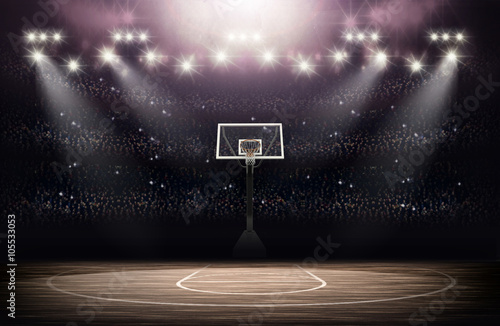 Photo Basketball arena