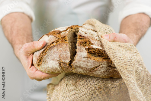 Fotografie, Obraz  Freshly baked bread from the baker