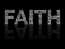 Faith From Bible Word, Graphic, Vector.