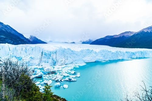 Spoed Foto op Canvas Gletsjers View of Perito Moreno Glacier