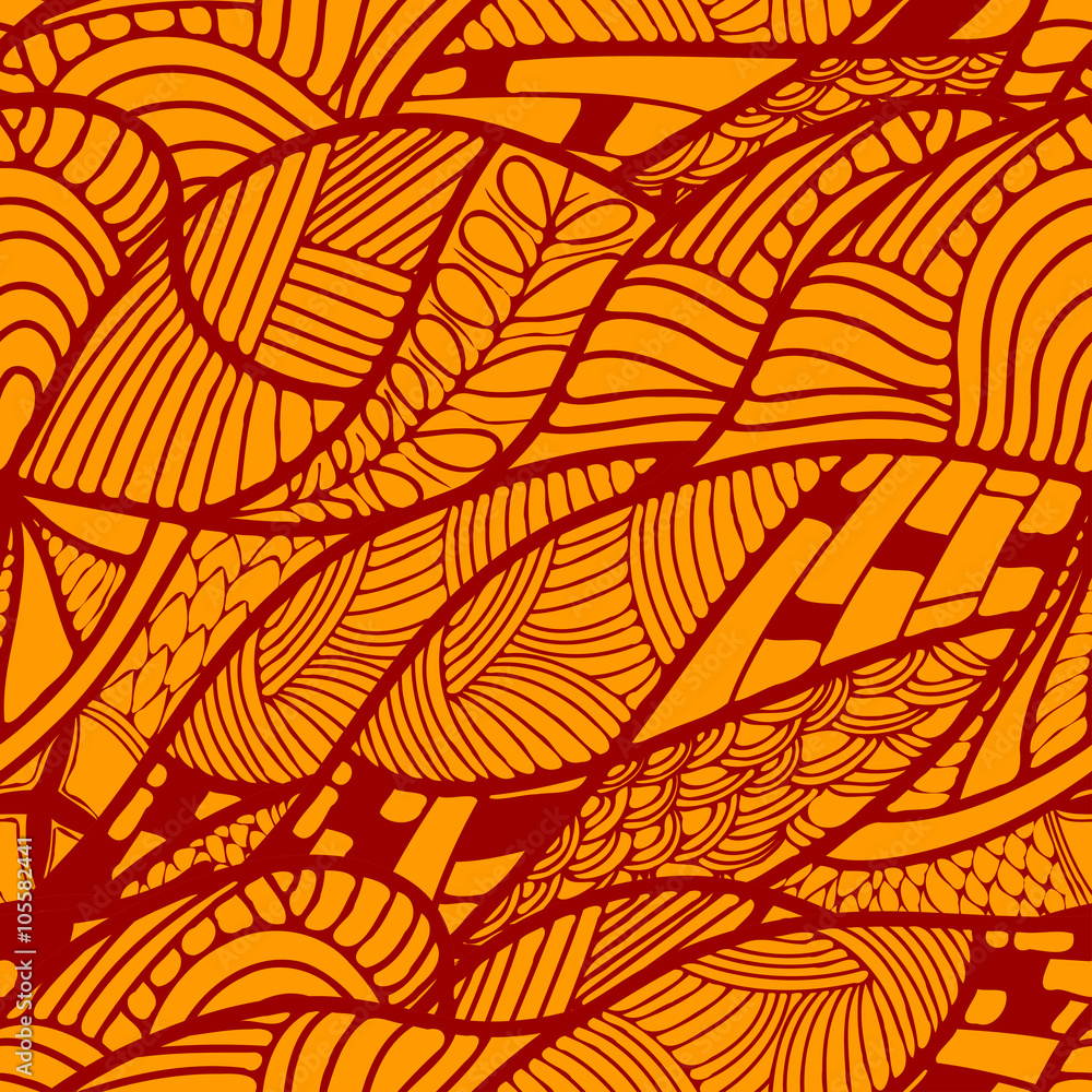 Photo Abstract Seamless ethnic pattern. Vector illustration