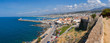 Rethymno cityscape panorama Crete Greece