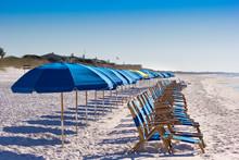 Beach Chairs On Destin Beach