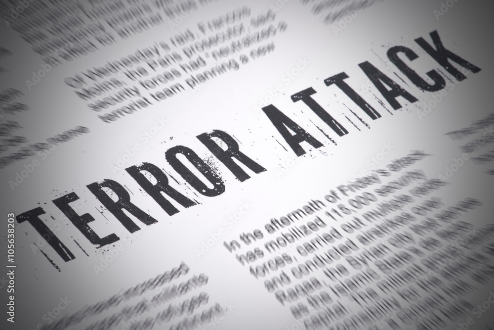 Fototapeta Terror Attack