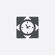 time arrows icon