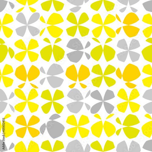 abstrakcyjny-wzor-w-zolte-i-szare-motyle-na-bialym-tle