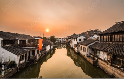 Ancient Villages, old-town of tongli -Suzhou, China Canvas Print