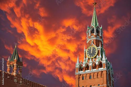 Moscow Kremlin Fotobehang