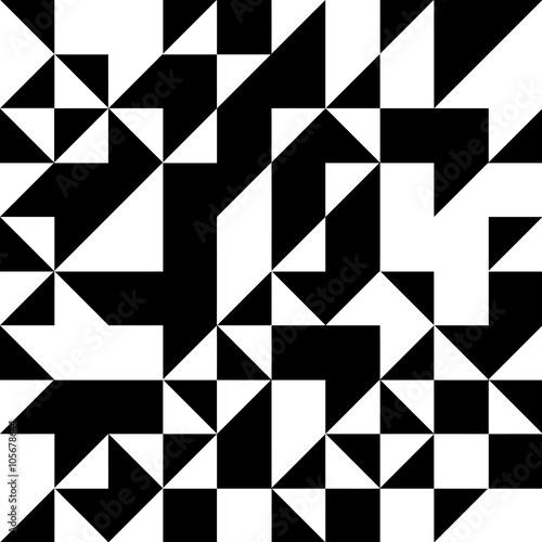 wzor-geometryczny-ksztalt-trojkata-czarny