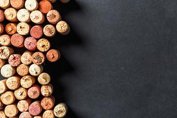 Fototapeta Do restauracji Bunch of wine corks
