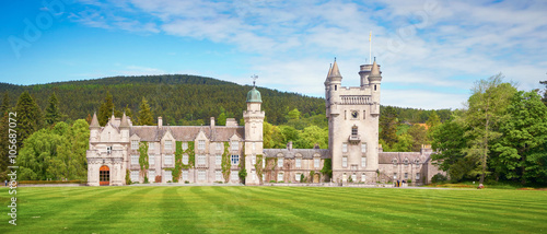 Photo sur Toile Chateau Balmoral Castle Estate