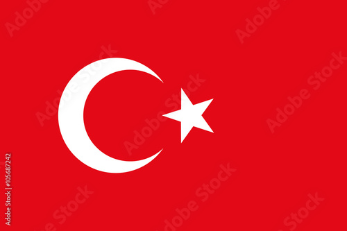 Carta da parati  Turkey Flag, Türk bayrağı, National flag of Turkey, Turkish flag in standard pro