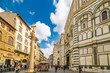 Cathedral and baptistery in Florence