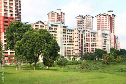 Public Housing in Bishan, Singapore Poster