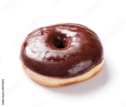 Fotografia, Obraz Chocolate donut