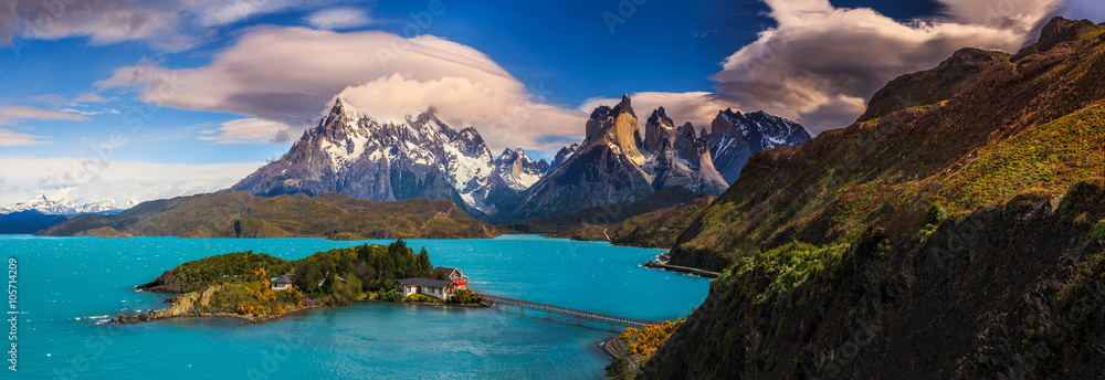 Fototapety, obrazy: Around Chilean Patagonia