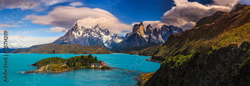 Spoed Foto op Canvas Zwart Around Chilean Patagonia