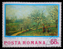 Stamp Printed In Romania Shows...