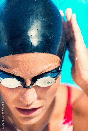 Photo  Swimmer