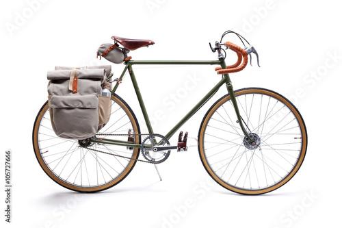 In de dag Fiets Vintage road bicycle