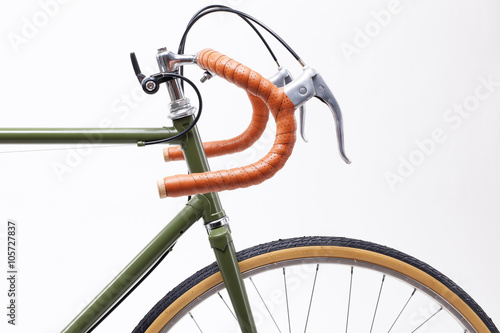 Photo sur Toile Velo Vintage bicycle handlebar