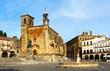 Day view of Plaza Mayor at Trujill