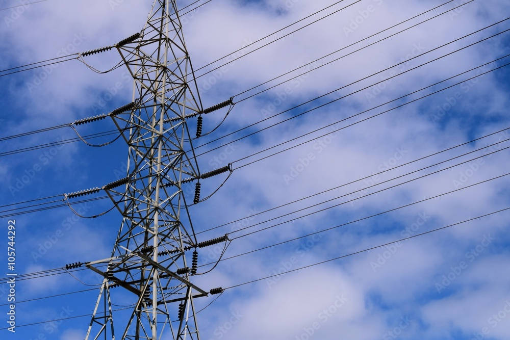 Transmission Power Line / The bulk transfer of electrical energy ...