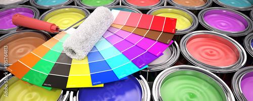 Fotografía  Paint colors