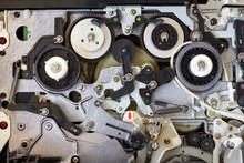 Close Mechanism Vhs Player.