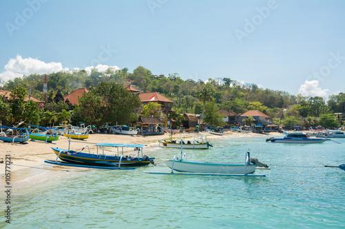 Poster Zanzibar pueblo pesquero padang bai