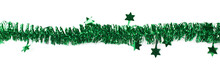 Line Of A Tinsel Garland Isola...