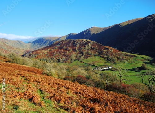 Foto op Plexiglas China The Troutbeck valley in the English Lake District.