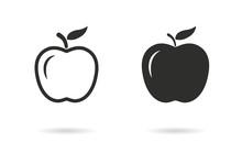 Apple - Vector Icon.