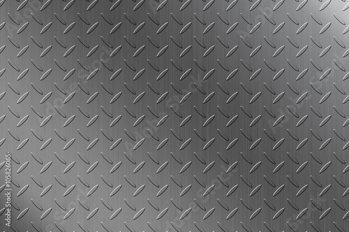 Poster Metal Steel checker plate background