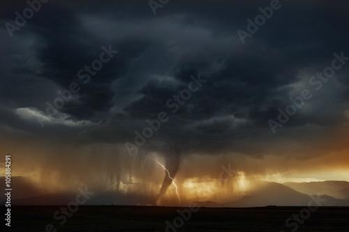 Tornado Super Cell Storm