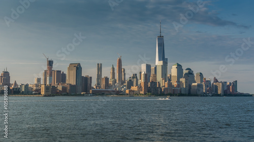 newyork skyline as seen from Hoboken